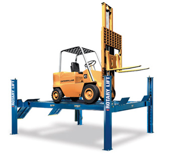 four post forklift hydraulic lift